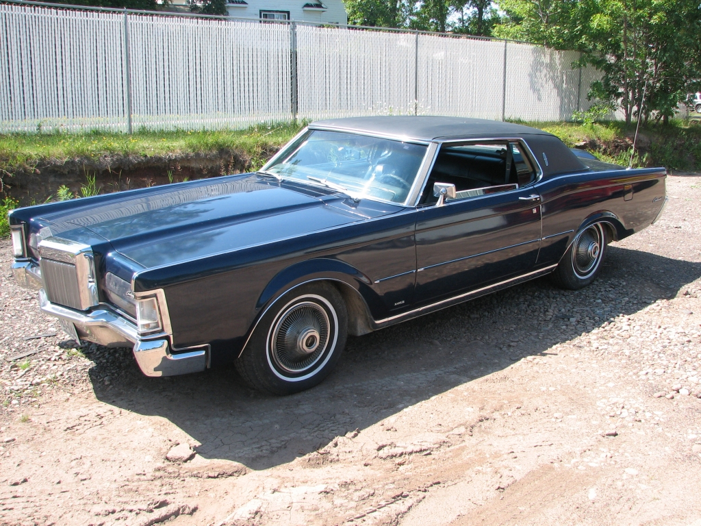 hight resolution of  lincoln mark iii 1969 10