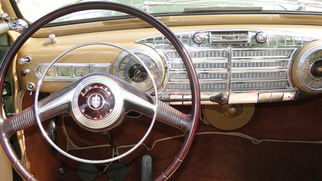 1946 1947 1948 Ford Coupe Dash
