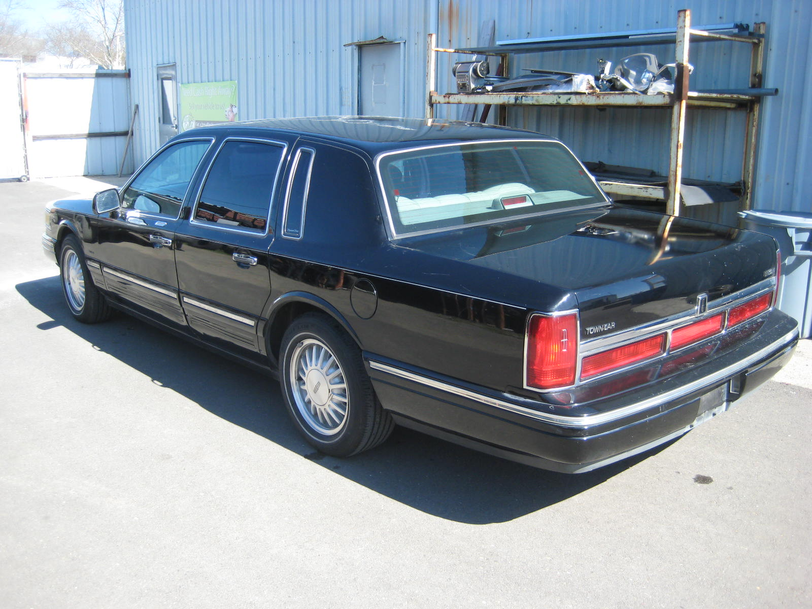 hight resolution of  lincoln town car 1996 4
