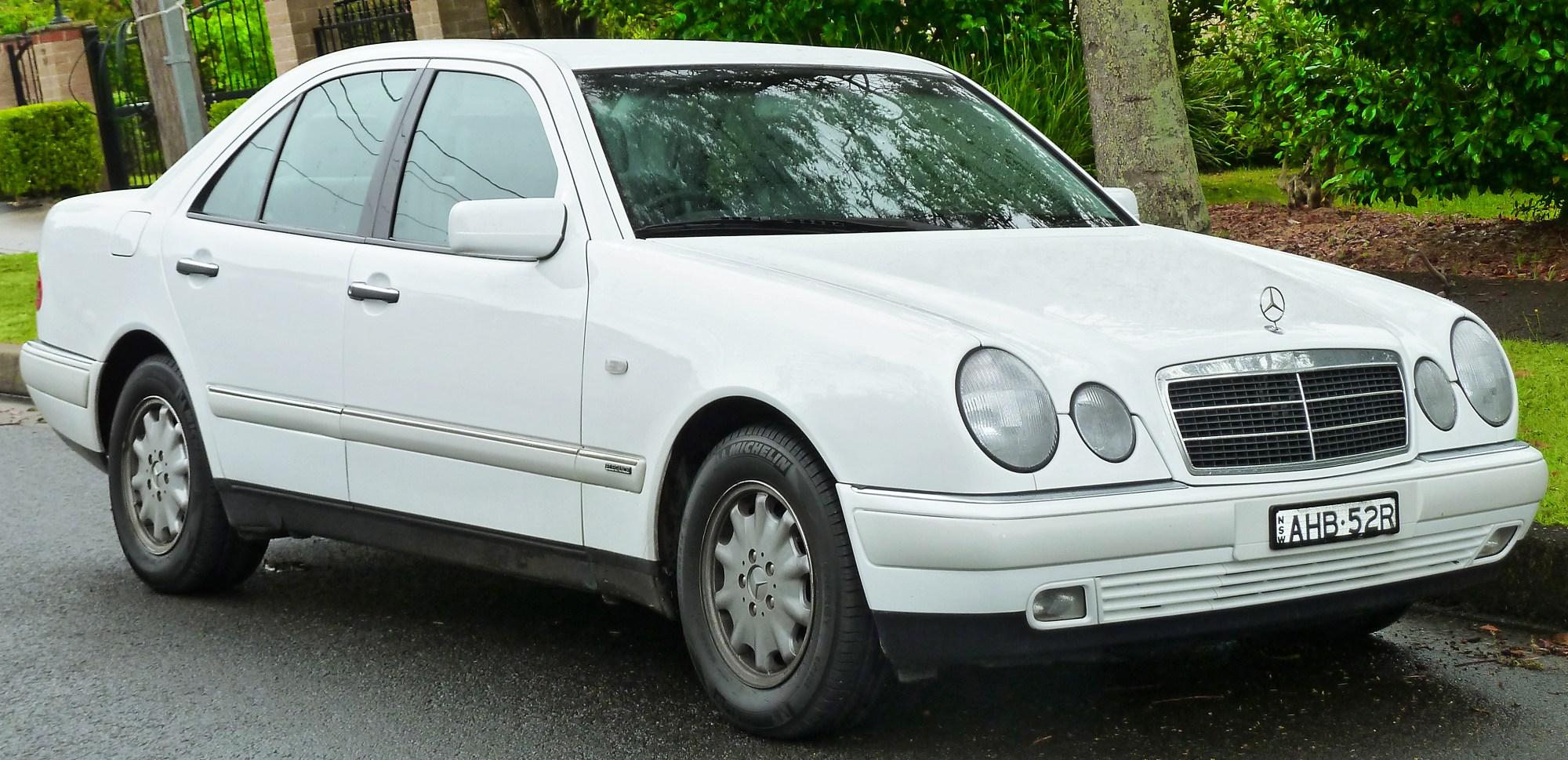 hight resolution of  mercedes benz e class 1997 12