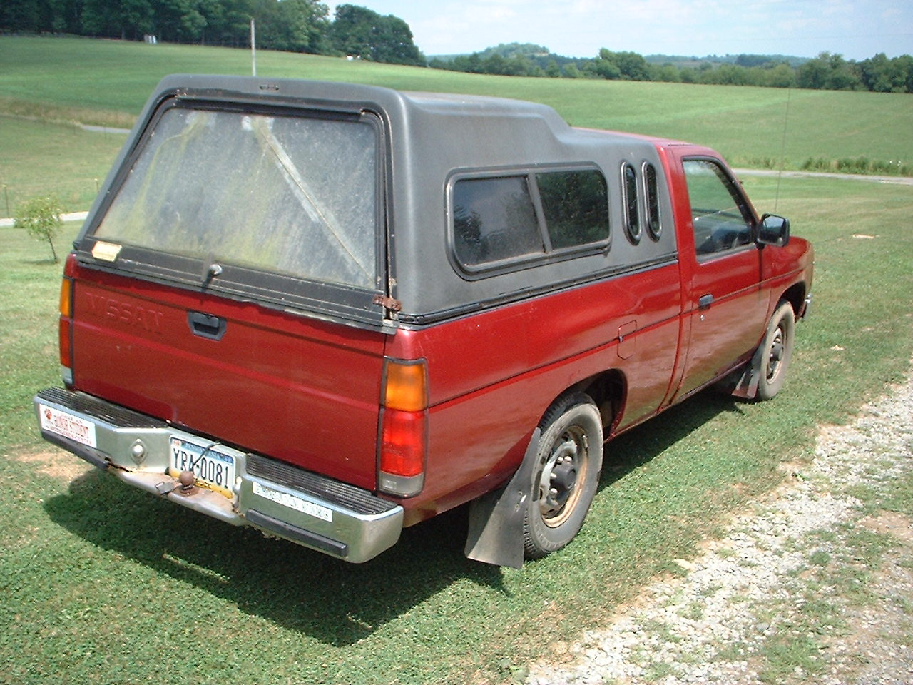 hight resolution of  nissan pickup 1987 11