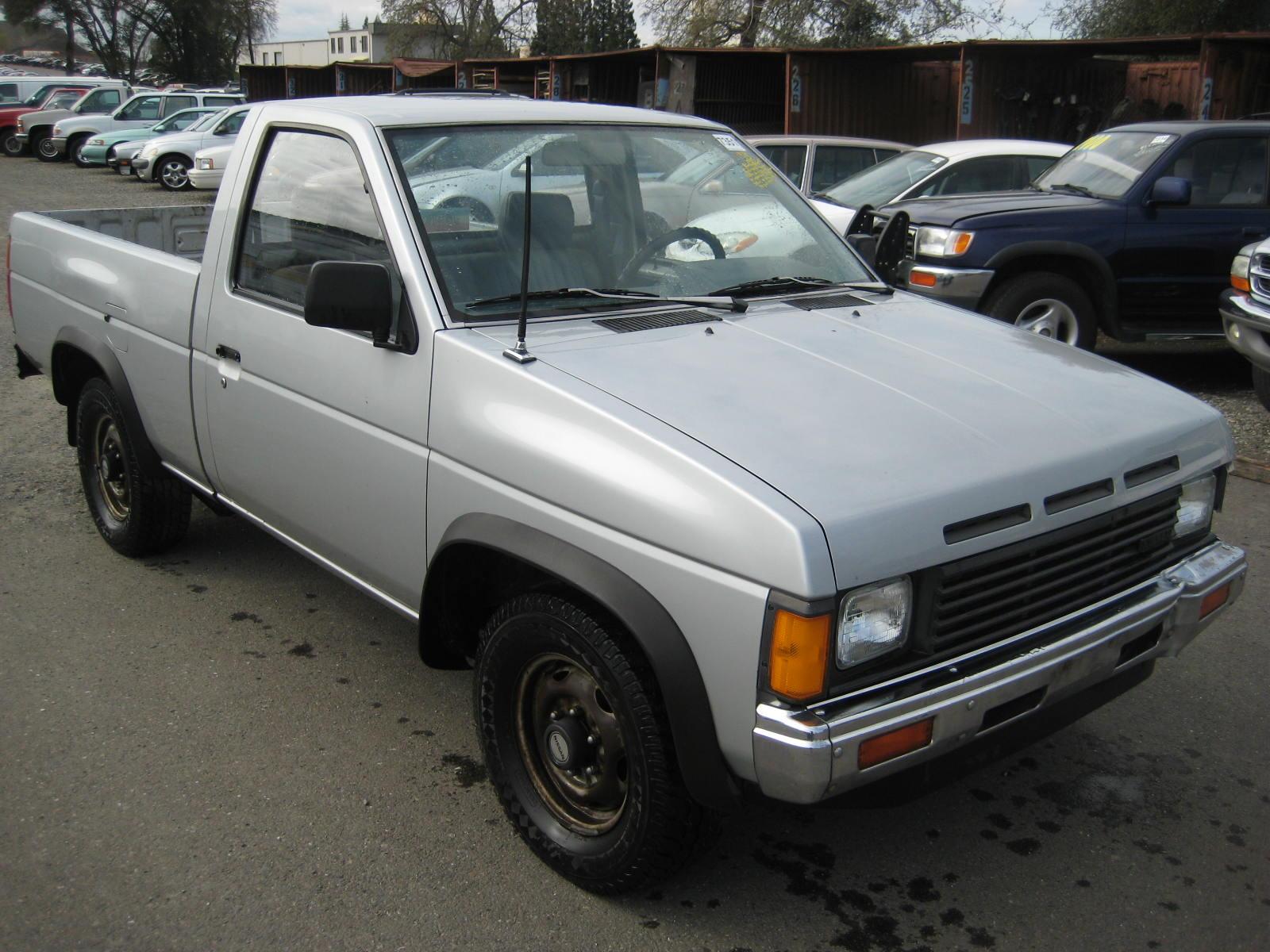hight resolution of nissan pickup 1987 4