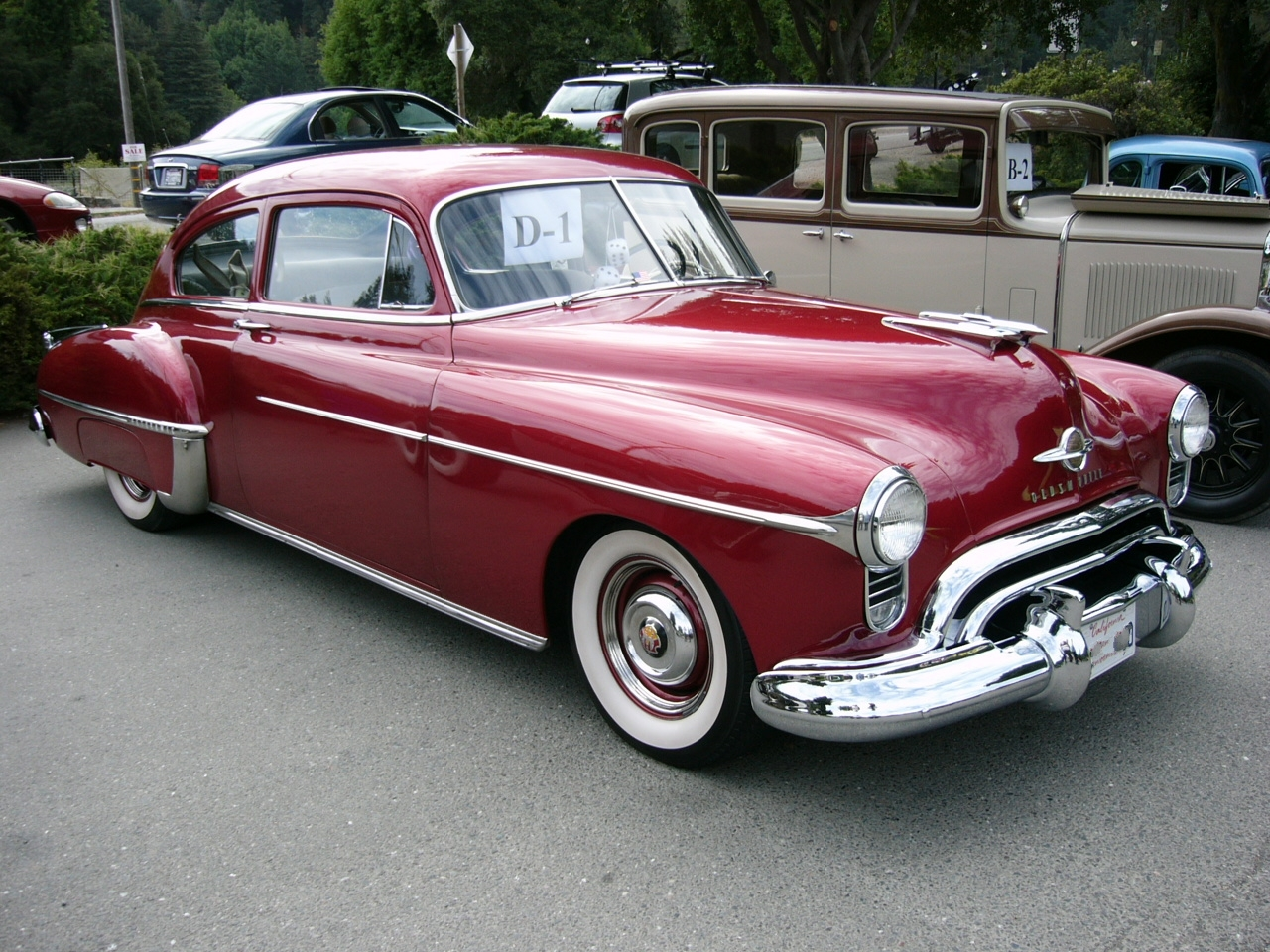 hight resolution of  oldsmobile 88 1950 11