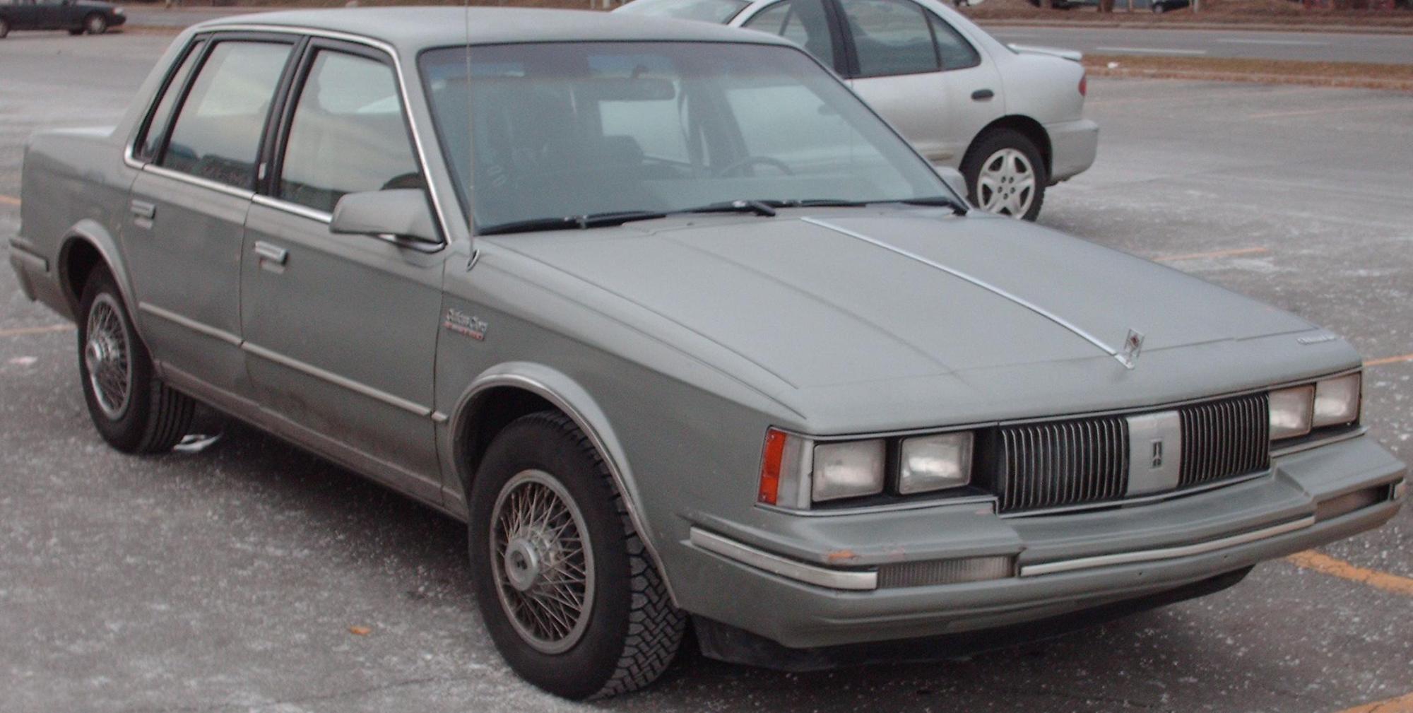 hight resolution of  oldsmobile cutlass ciera 1985 9
