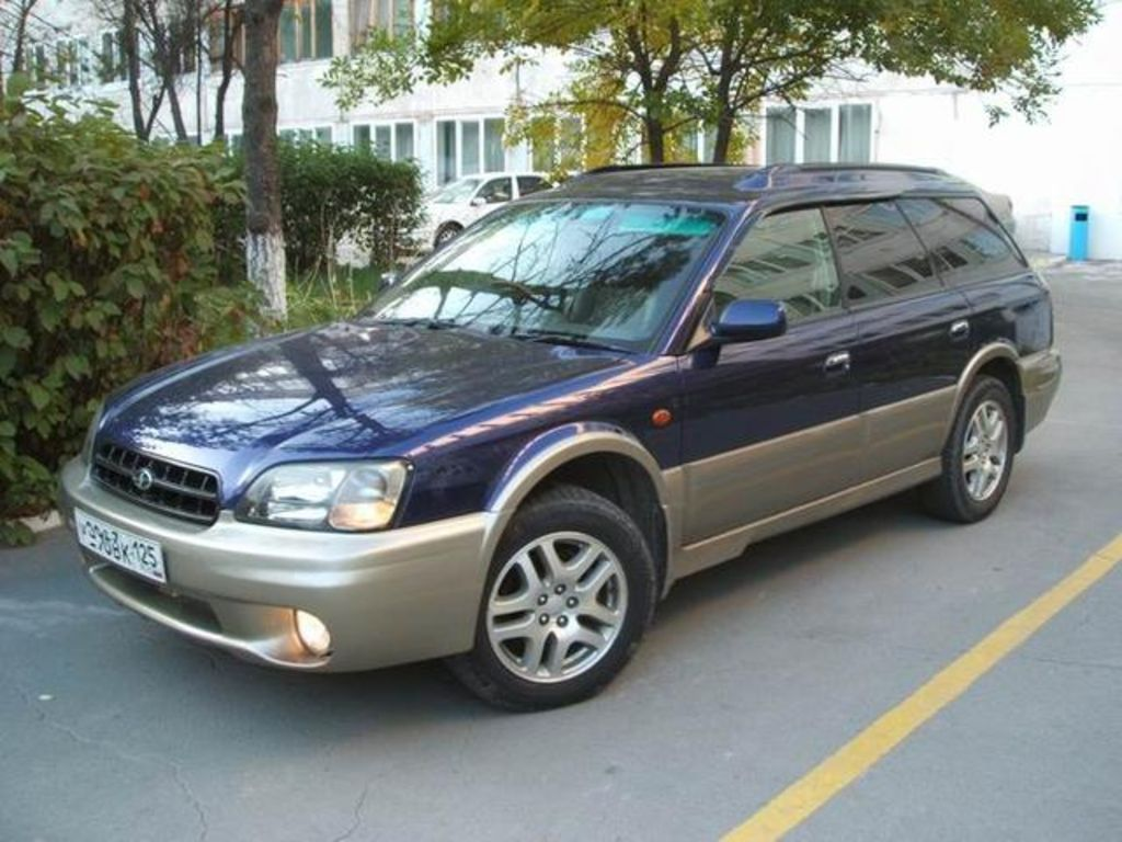 hight resolution of subaru legacy 1999 13