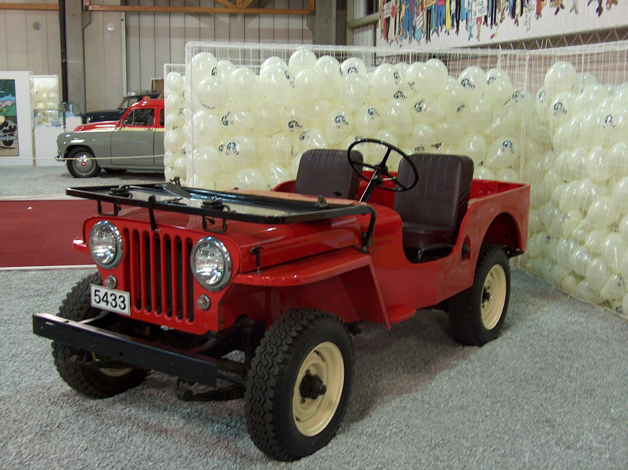 hight resolution of  willys cj 3a 10