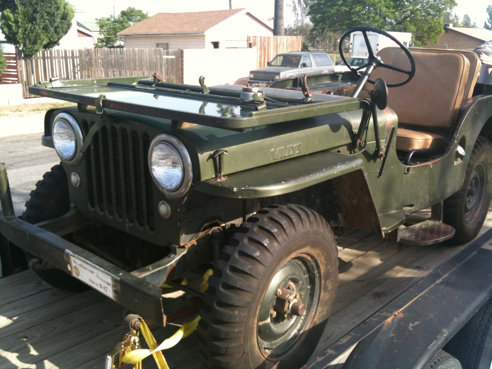 hight resolution of  willys cj 3a 11