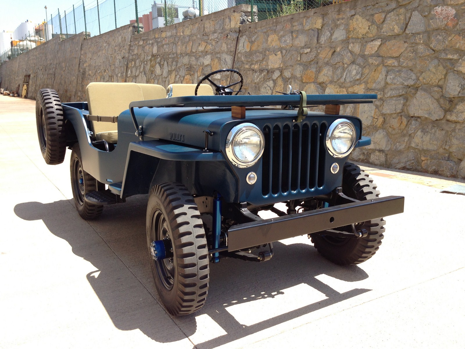 hight resolution of  willys cj 3a 12
