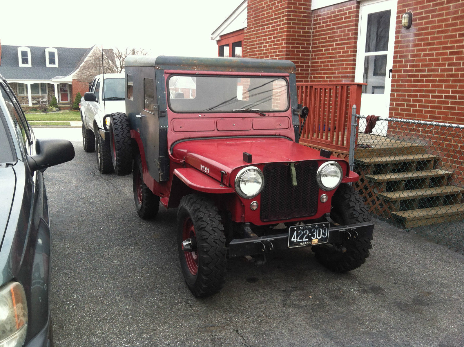 hight resolution of  willys cj 3a 1952 10
