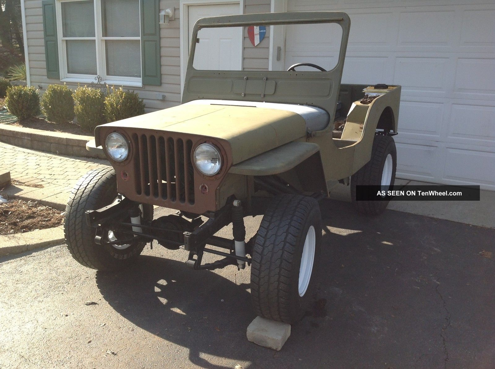hight resolution of  willys cj 3a 1952 4