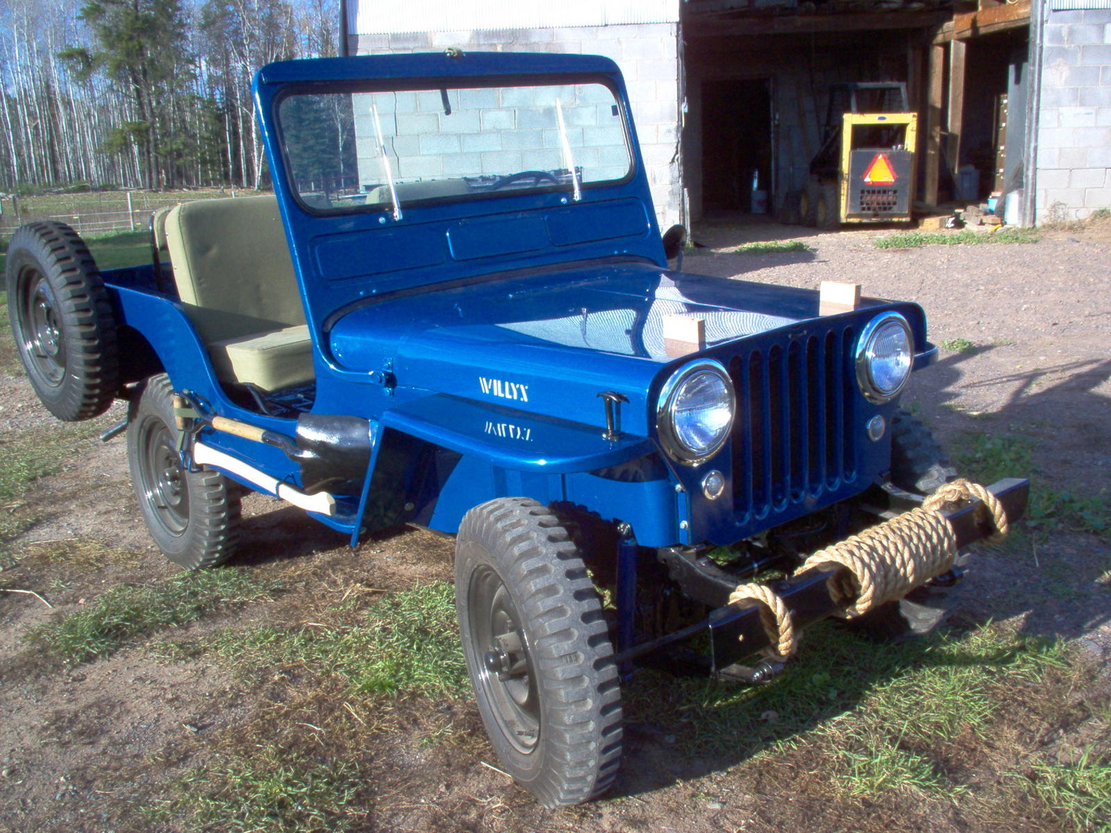 hight resolution of  willys cj 3a 1952 8