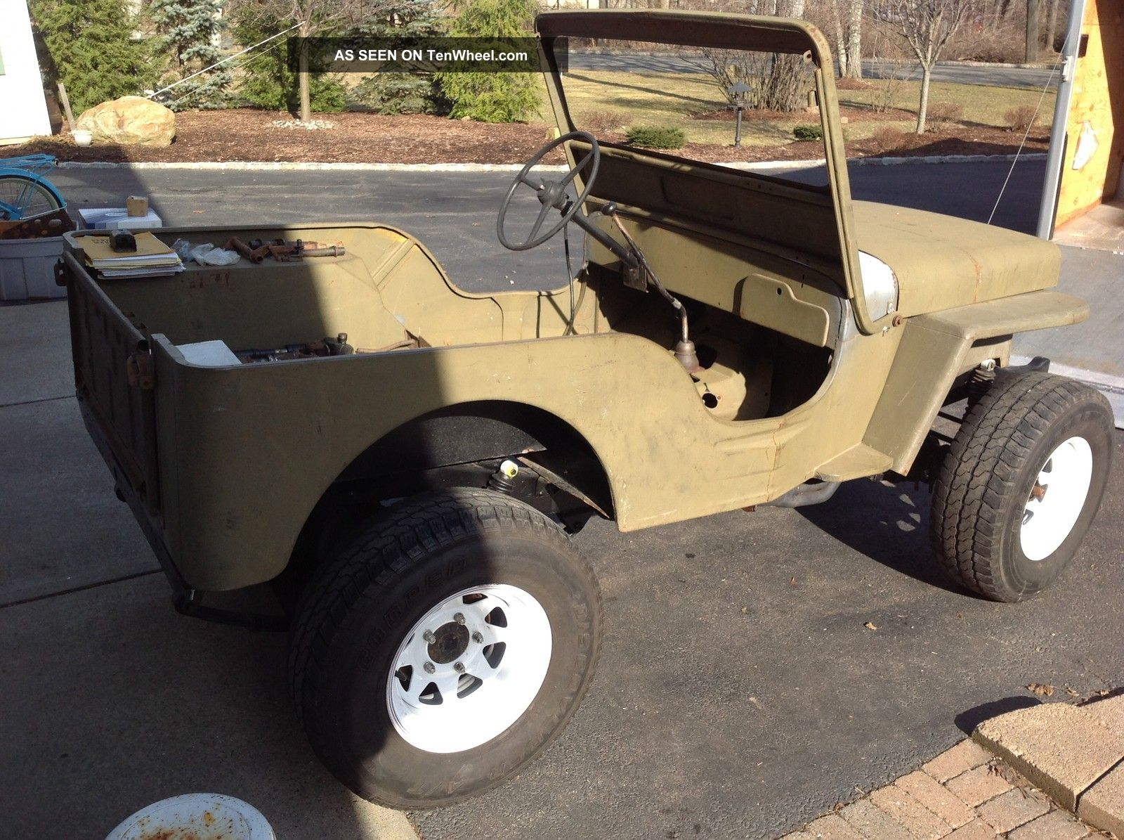 hight resolution of  willys cj 3a 1952 9