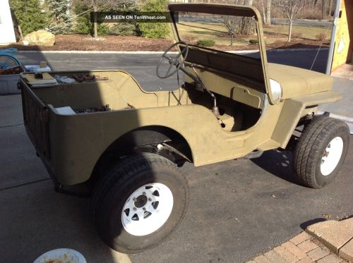 small resolution of  willys cj 3a 1952 9