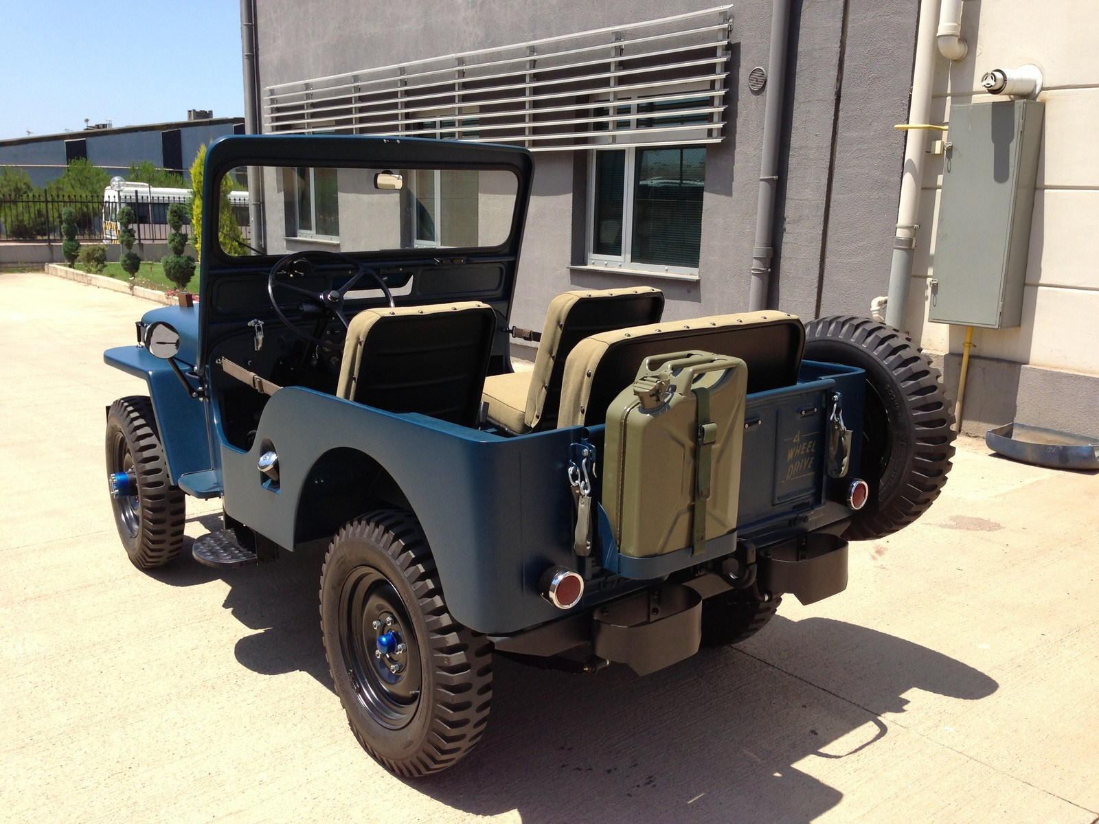 hight resolution of  willys cj 3a 9