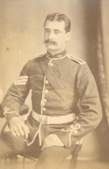 British Officer photographed by Lawton & Co.
