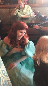 Ariel at Cinderella's Royal Table