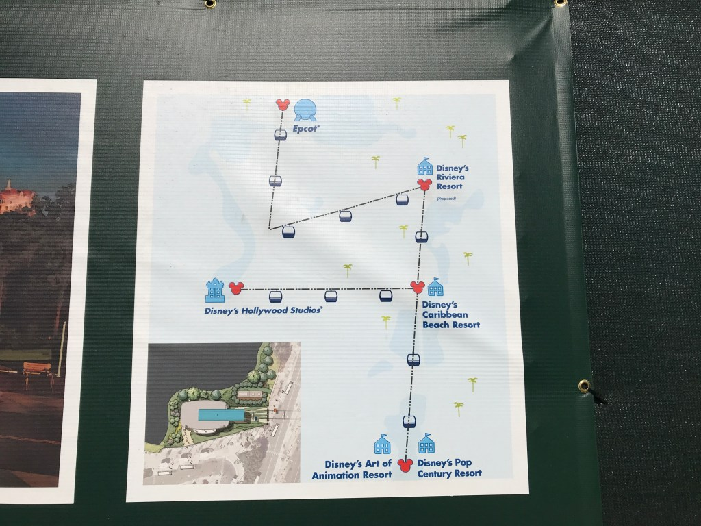 Disney Skyliner Map
