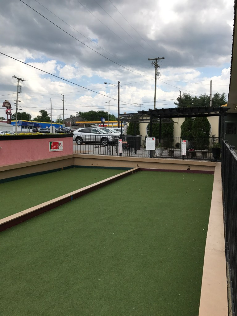 Bocce Ball Court at Coco's Italian Market 2