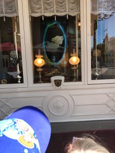 Rain drop portal on Main Street U.S.A.