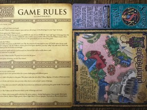 Sorcerers of the Magic Kingdom Gameboard