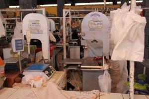 Alpaca meat in Chivay Market