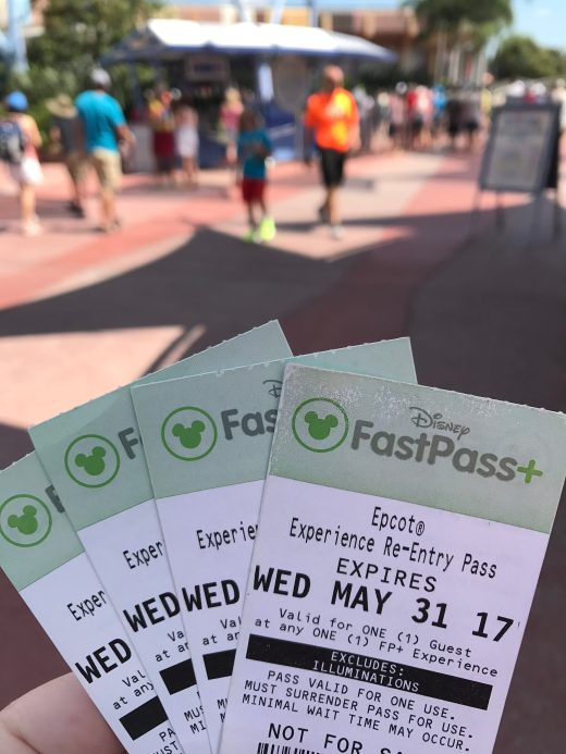 FastPass+ tickets