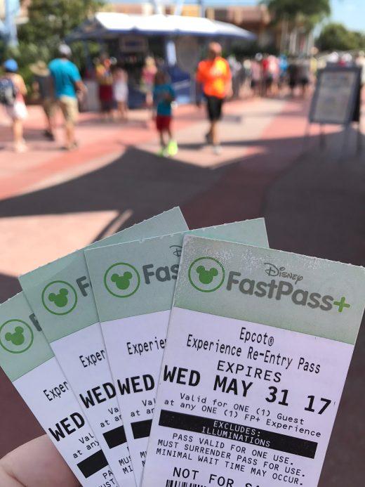FastPass+ tickets