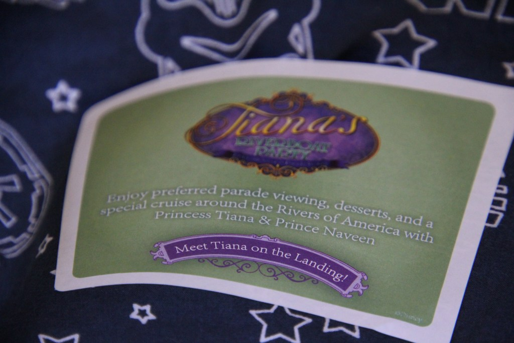 Sticker for Tiana's Riverboat Party