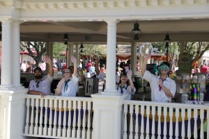 Cast Members at Tiana's Riverboat Party