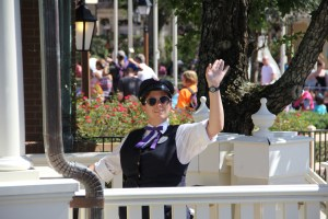 Cast Member Waving goodbye 2