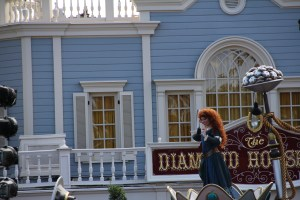 Merida in Festival of Fantasy Parade