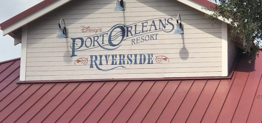 Port Orleans Riverside Sign