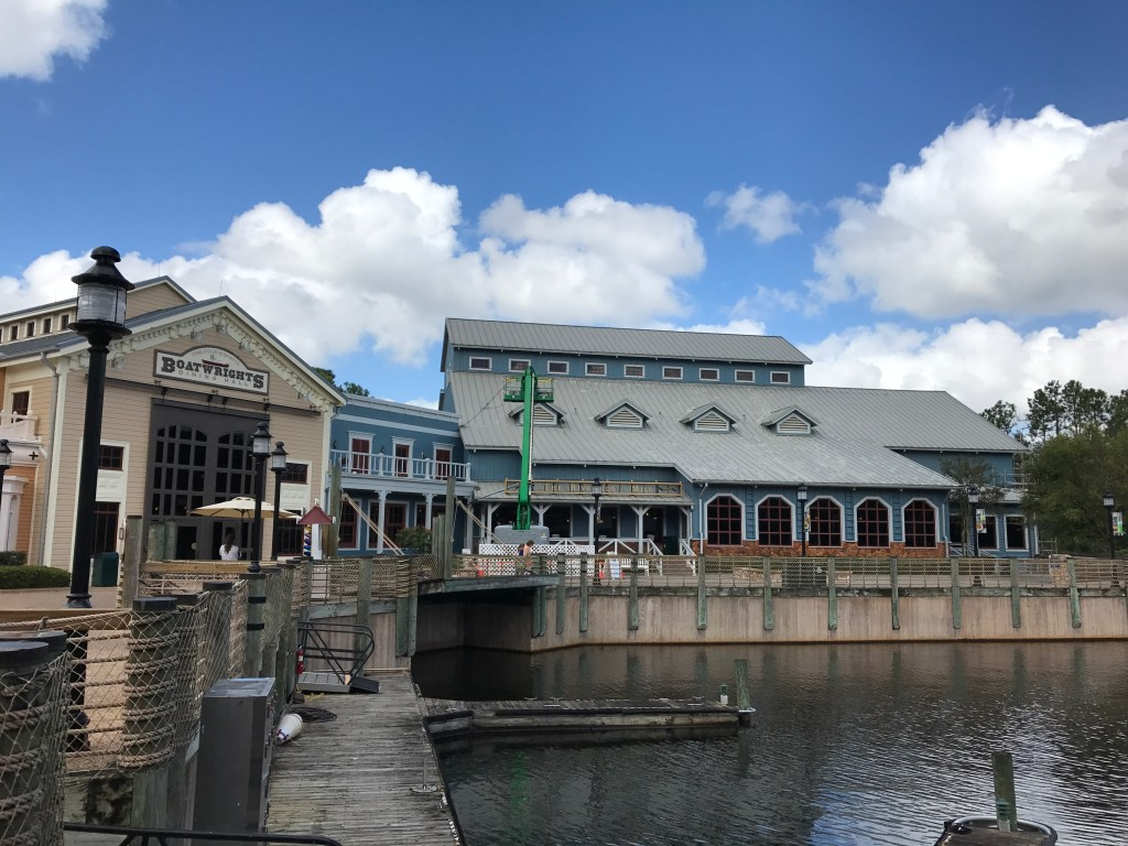 Dining Hall from outside at Port Orleans Riverside