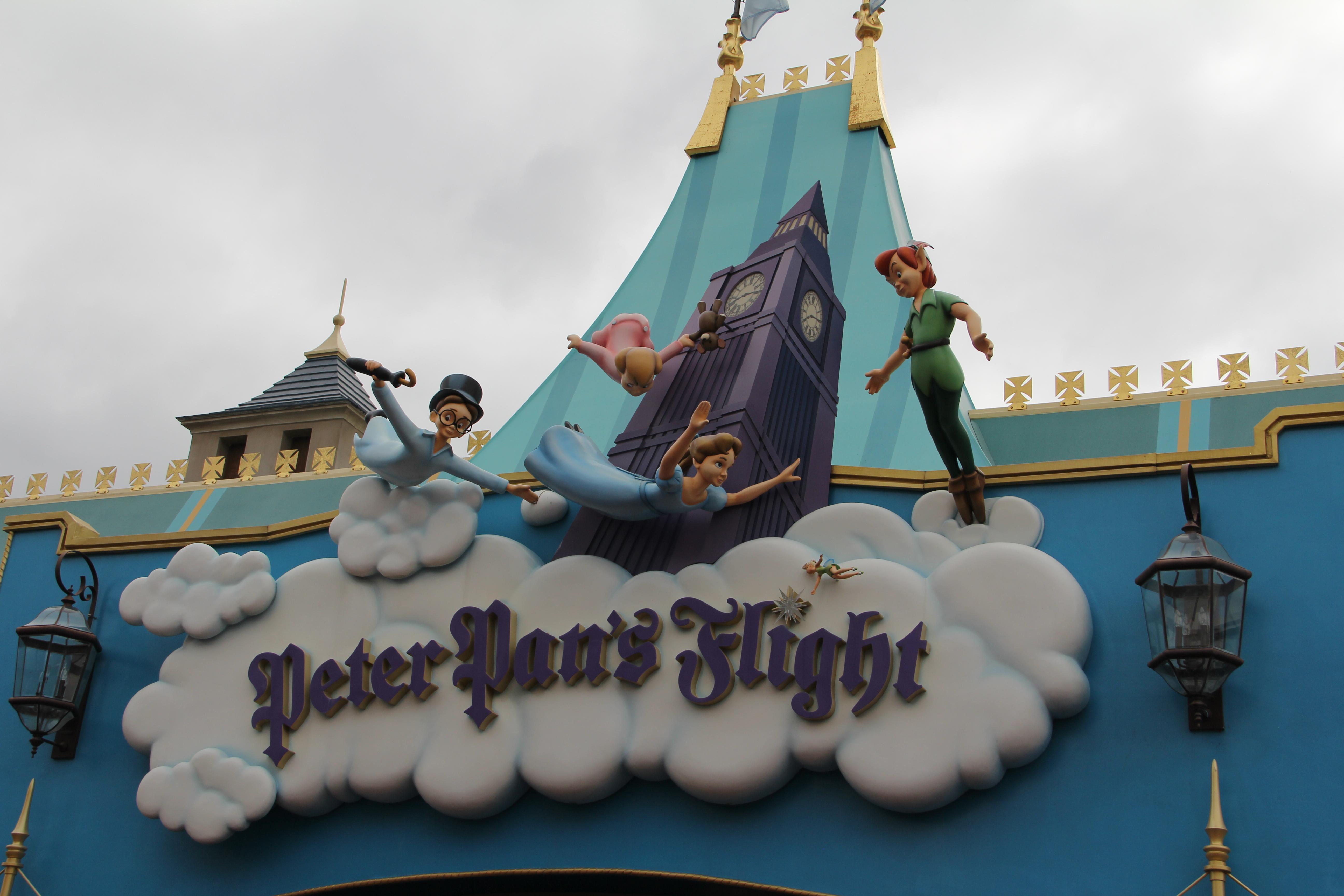 Peter Pan Flight Sign