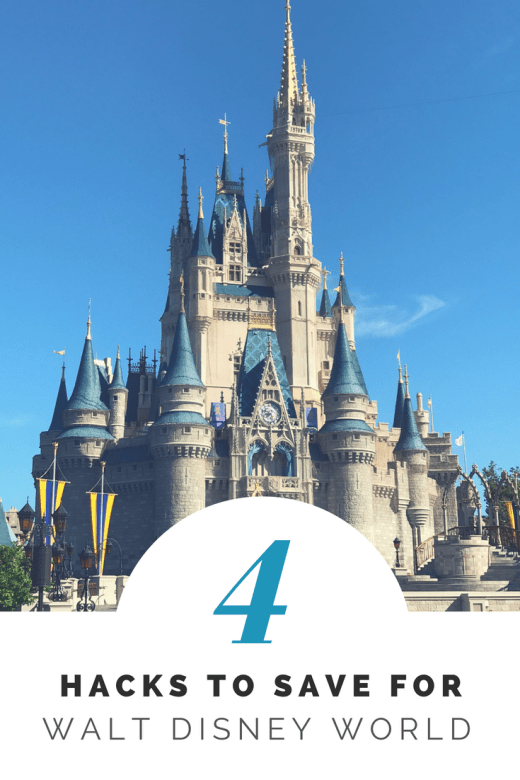 Saving Money for Walt Disney World