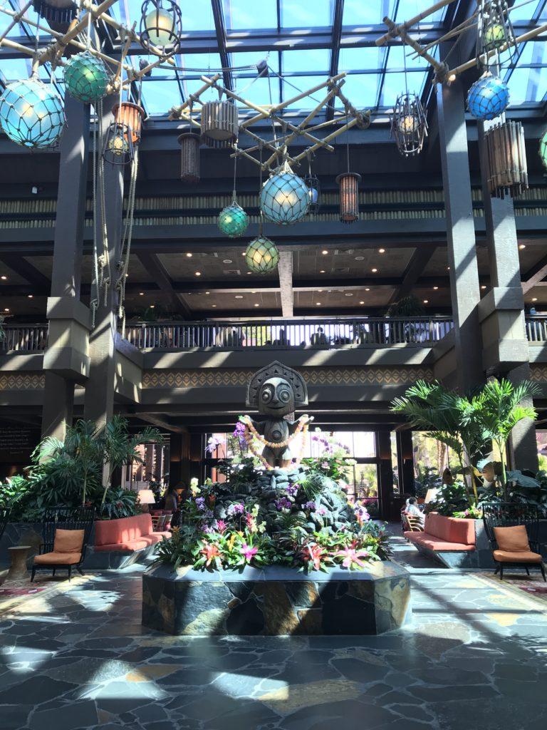 Foyer of Disney's Polynesian Resort