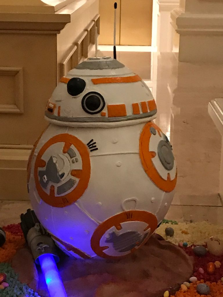 BB-8 Chocolate Egg at Grand Floridian
