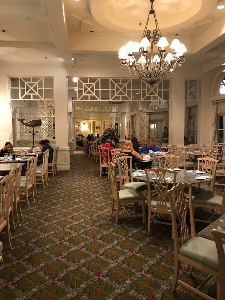 Dining Room at Grand Floridian Cafe