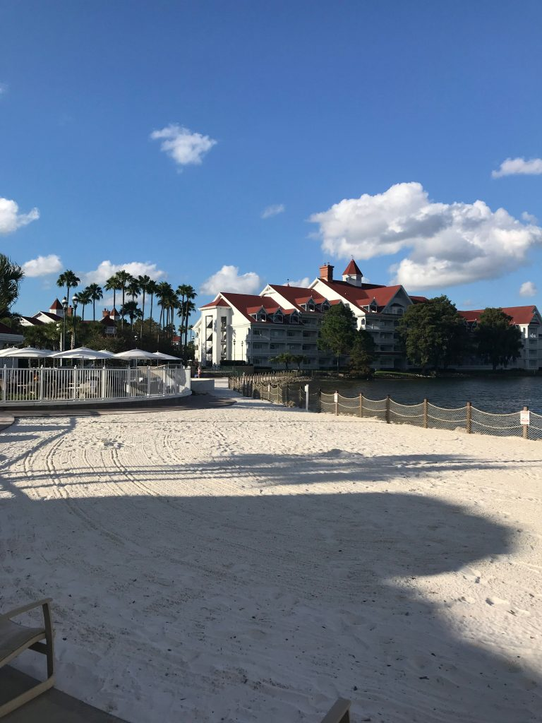 Sand Beach at Grand Floridian Pool