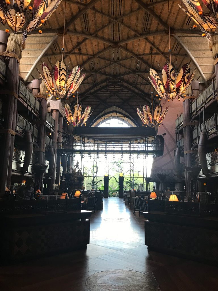 Lobby in Day_AK Lodge