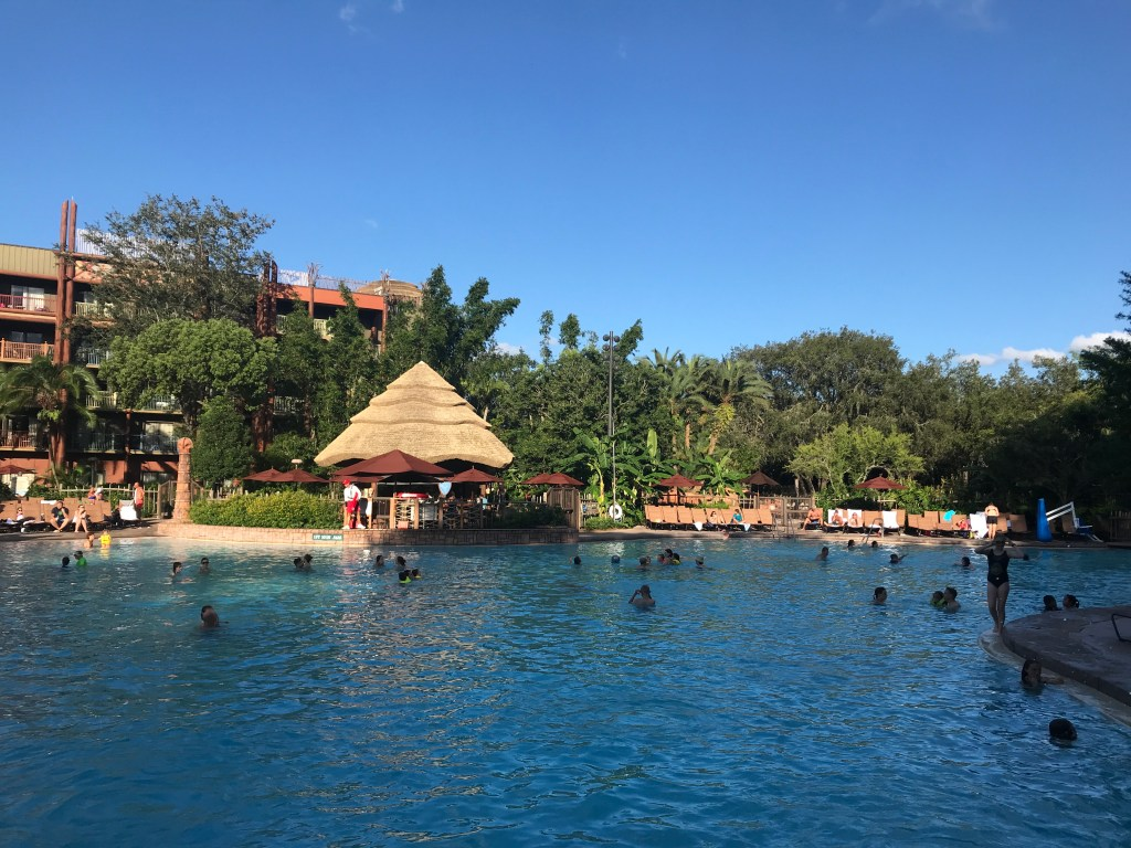 Animal Kingdom Lodge Pool at Disney World