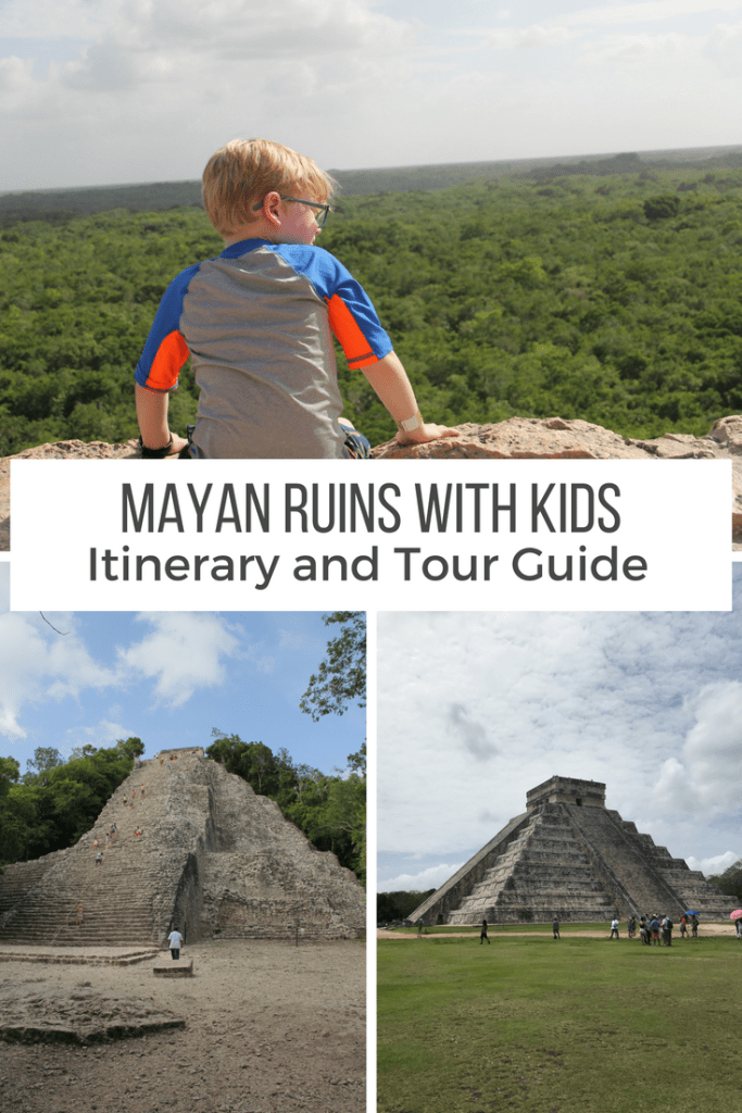 Maya Ruin Tours With Kids pin
