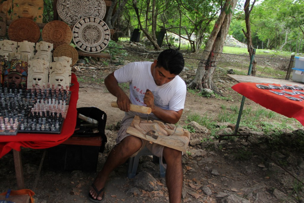 Chichen Itza Local Craftsman