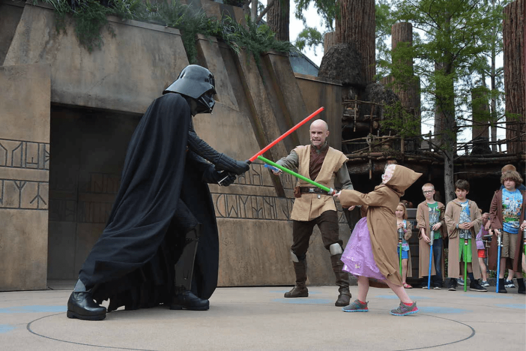 Jedi Training with Darth Vader