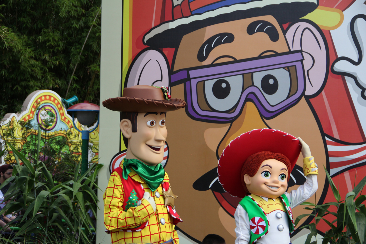 Woody and Jessie at Hollywood Studios