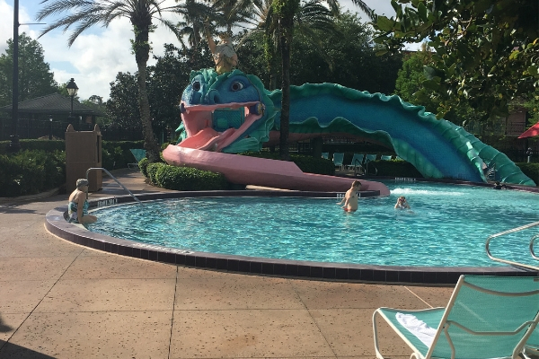 Doubloon Lagoon Pool at Port Orleans French Quarter Disney World Resorts