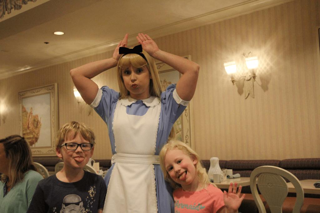 Alice in Wonderland 1900 Park Fare