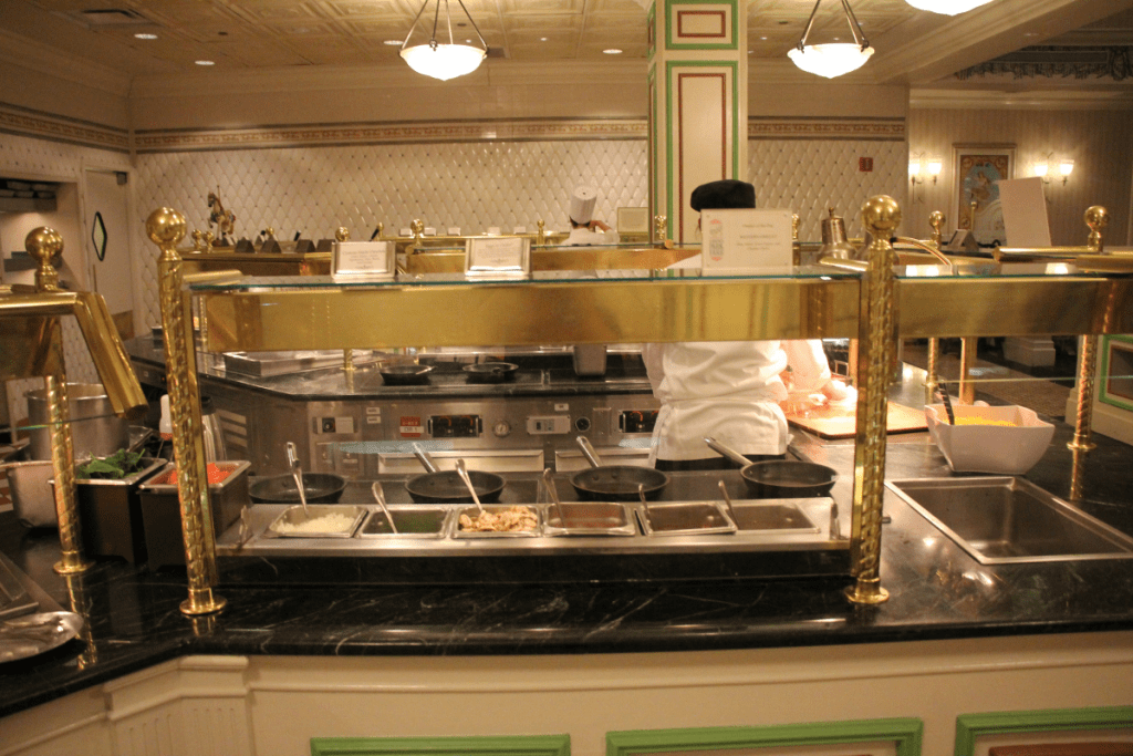 Omelet Stations at 1900 Park Fare breakfast buffet