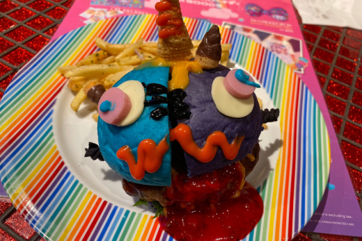 Kawaii Monster Cafe Franken Monster Burger