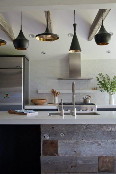 estilo de cocina tipo industrial
